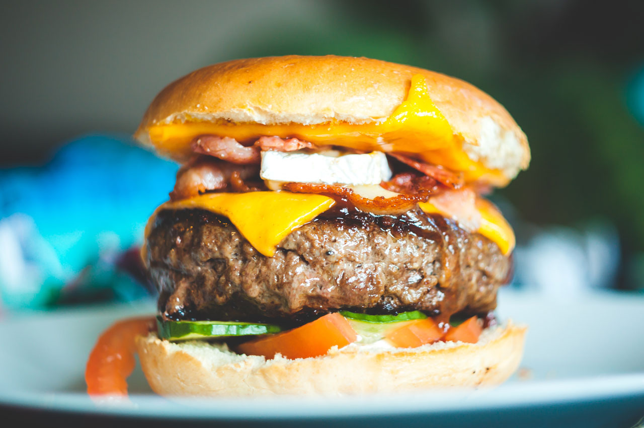 rare burger E.coli